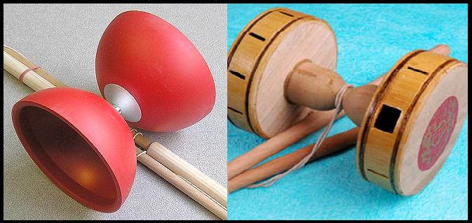 diabolo and chinese yoyo